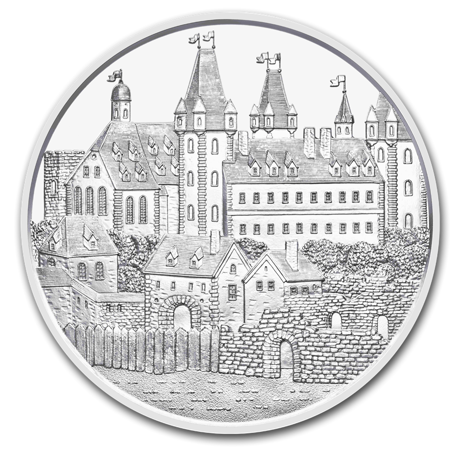 2019 Austria 1 oz Silver 825th Anniversary Wiener Neustadt BU