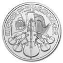 2019 Austria 1 oz Silver Philharmonic BU