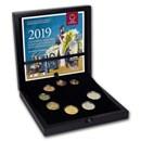 2019 Austria 825th Anniversary Euro Proof Coin Set