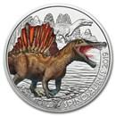 2019 Austria Cupro-Nickel €3 Colorful Supersaurs (Spinosaurus)