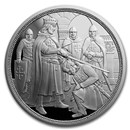 2019 Austria Proof Silver €10 Knights' Tales (Adventure)