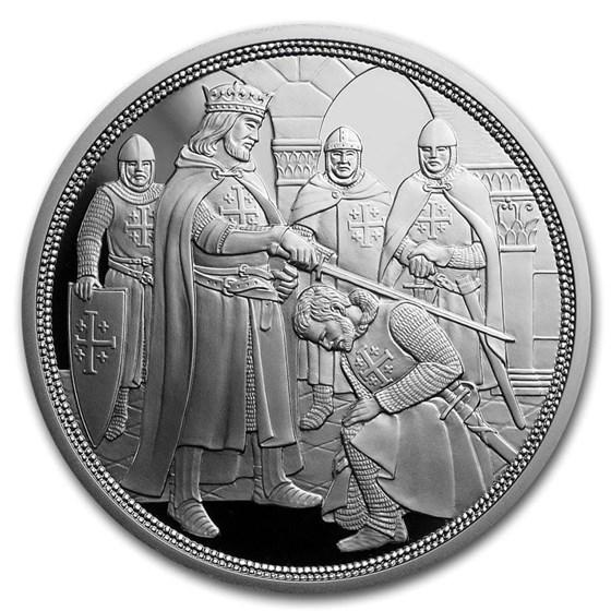 2019 Austria Proof Silver €10 Knights' Tales (Adventure)