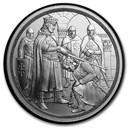 2019 Austria Silver €10 Knights' Tales (Adventure)