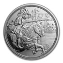 2019 Austria Silver €10 Knights' Tales (Chivalry)