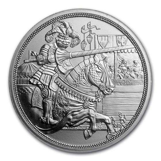 2019 Austria Silver €10 Knights' Tales (Chivalry)