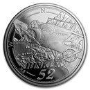 2019 Austria Silver €20 Reaching for the Sky: Powered Flight