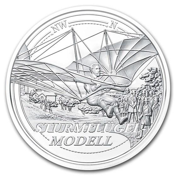 2019 Austria Silver €20 Reaching for the Sky: The Dream of Flight