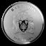 2019 Barbados 1.969 kilo Silver $50 Moon Landing