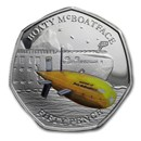 2019 British Antarctic Territory Silver Boaty McBoatface Proof