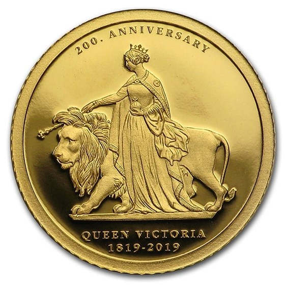 2019 Cameroon 1/2 gram Gold Una & The Lion