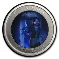 2019 Canada $0.50 Lenticular Spooky Canada: HI Ottawa Jail Hostel