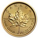 2019 Canada 1/10 oz Gold Maple Leaf BU