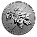 2019 Canada 1/2 oz Silver $10 Maple Leaves