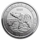 2019 Canada 1/2 oz Silver Polar Bear BU