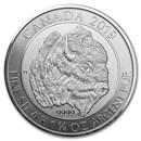 2019 Canada 1.25 oz Silver $8 Bison BU