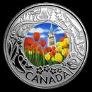 2019 Canada 1/4 oz Silver $3 Celebrating Canadian Fun: Tulips Prf
