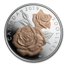2019 Canada 1/4 oz Silver $3 Queen Elizabeth Rose Proof