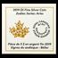 2019 Canada 1/4 oz Silver $5 Zodiac Series (Aries)