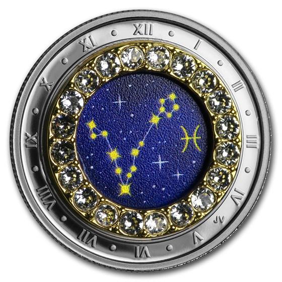 2019 Canada 1/4 oz Silver $5 Zodiac Series (Pisces)