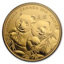 2019 Canada 1/4 oz Silver $8 Pandas: A Golden Gift of Friendship