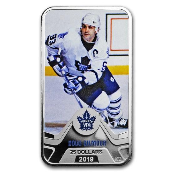 2019 Canada 1.5 oz Silver $25 Toronto Maple Leafs: Doug Gilmour
