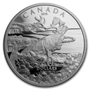 2019 Canada 1 oz Silver $20 Forget-Me-Not