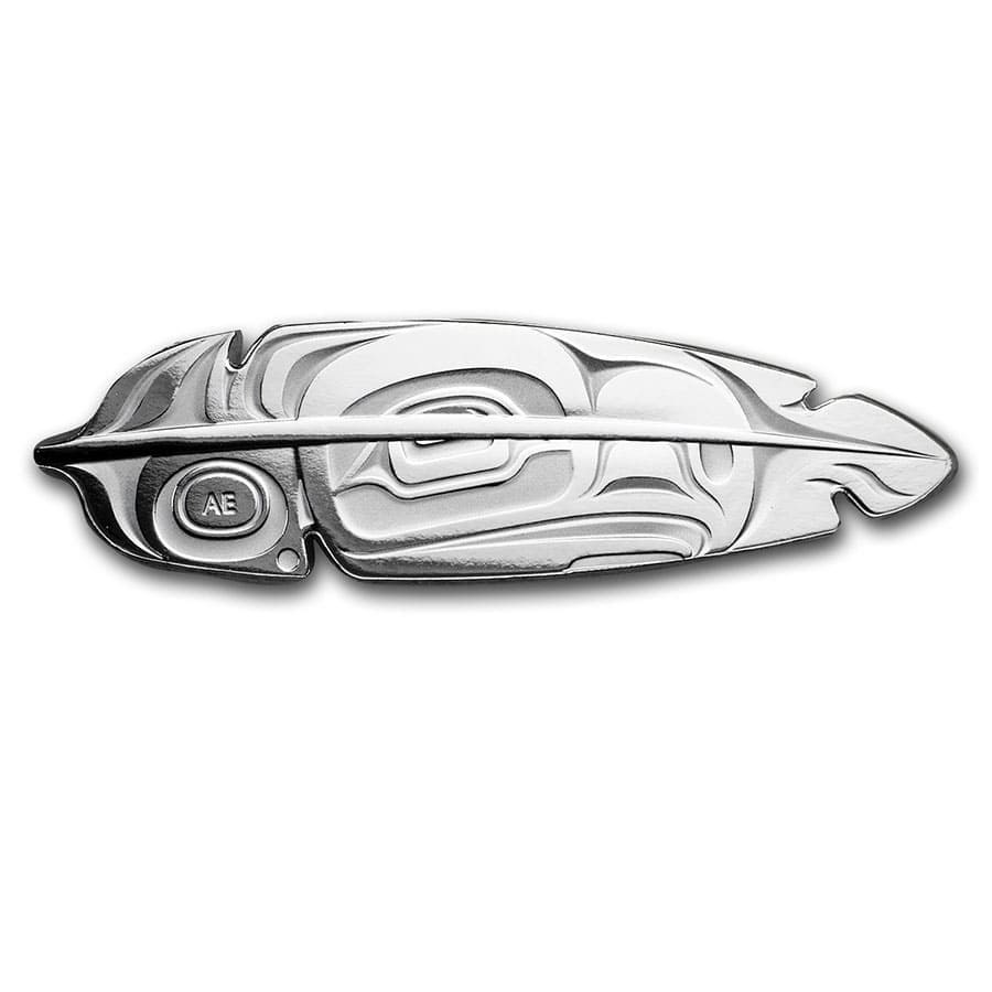 2019 Canada 1 oz Silver $20 The Eagle Feather