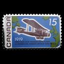 2019 Canada 1 oz Silver First Non-Stop Transatlantic Flight Proof