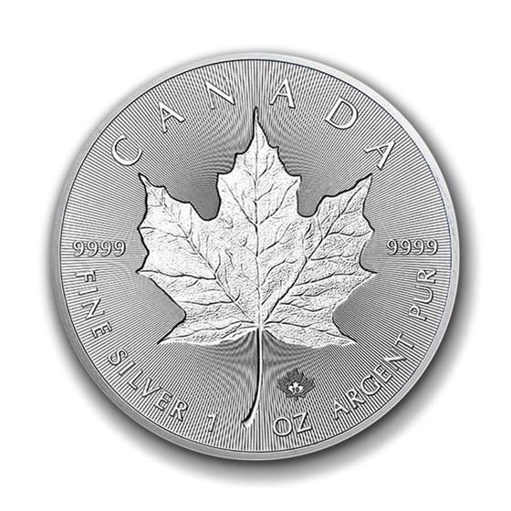 2019 Canada 1 oz Silver Incuse Maple Leaf BU