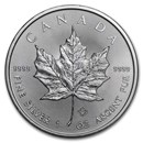 2019 Canada 1 oz Silver Maple Leaf BU
