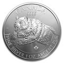 2019 Canada 1 oz Silver Predator Series Grizzly