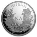 2019 Canada 10 oz Silver $100 Canadian Maples