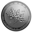 2019 Canada 10 oz Silver $50 Magnificent Maple Leaves BU