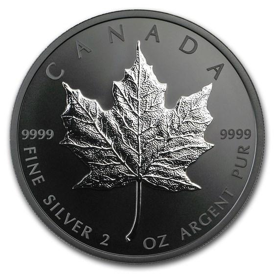 2019 Canada 2 oz Silver $10 Silver Maple Leaf (Limited Edition)