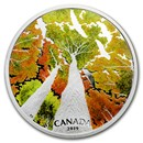 2019 Canada 2 oz Silver $30 Canadian Canopy: The Canada Goose