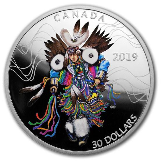 2019 Canada 2 oz Silver $30 The Fancy Dance