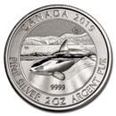 2019 Canada 2 oz Silver Orca Whale BU