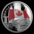2019 Canada 2 oz Silver The Fabric of Canada