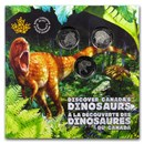 2019 Canada 25 Cent Dinosaurs of Canada Coin Set