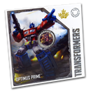 2019 Canada 25-Cent Lenticular Transforming Optimus Prime