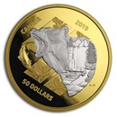 2019 Canada 5 oz Silver My Inner Nature: Grizzly Bear