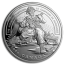 2019 Canada Ag $20 WWII Battlefront Series The Normandy Campaign