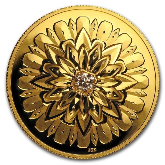 2019 Canada Proof Gold $200 Forevermark Square Diamond UHR