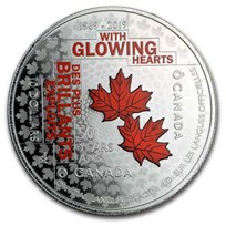 2019 Canada Silver $10 50th Anniversary of the Official Languages