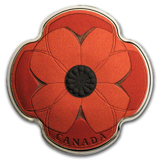 2019 Canada Silver $10 Remembrance Day Proof