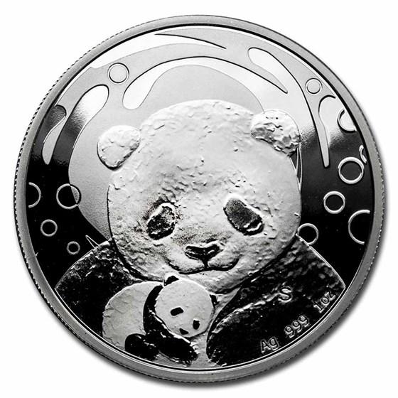 2019 China 1 oz Silver Panda Proof (Singapore Fair, w/Box & CoA)