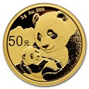 2019 China 3 gram Gold Panda BU (Sealed)