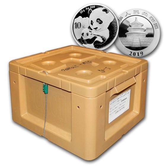 2019 China 450-Coin 30 gram Silver Panda (Sealed Box)
