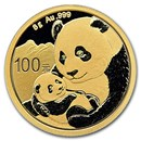 2019 China 8 gram Gold Panda BU (Sealed)