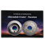 2019 Cook Island 3 oz Antique Silver Meteorites Chicxulub Crater